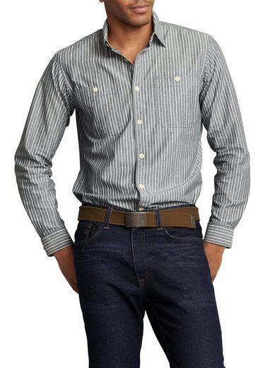 Eddie Bauer Oxfordhemd gestreift