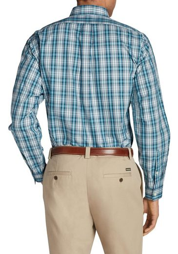 Eddie Bauer Knitterarmes Pinpoint-Oxfordhemd - Langarm - Relaxed Fit -...