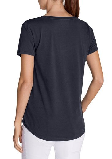 Eddie Bauer Gypsum T-Shirt mit Tasche - Uni