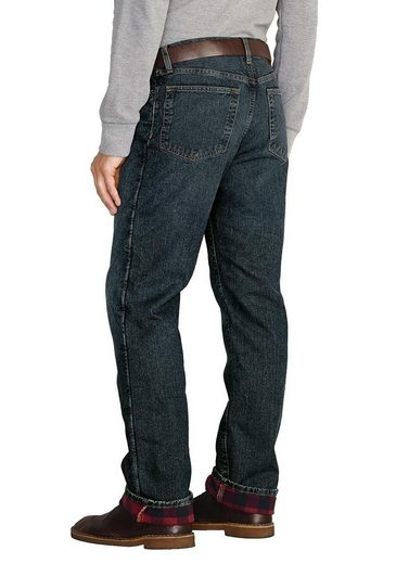 Eddie Bauer Authentic Jeans mit Flanellfutter - Relaxed Fit