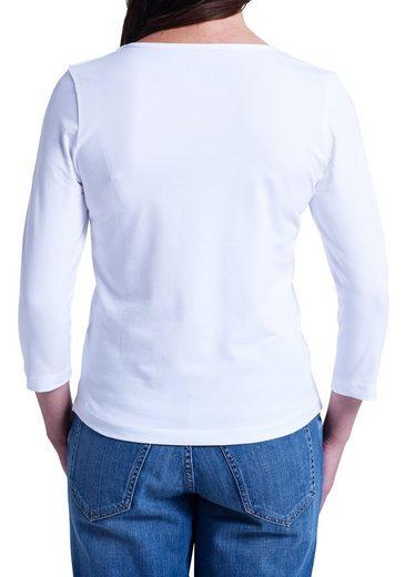 Eddie Bauer Shirt mit 3/4-Arm