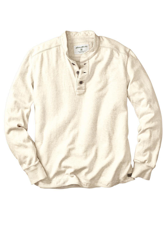Eddie Bauer Langarm-Henleyshirt