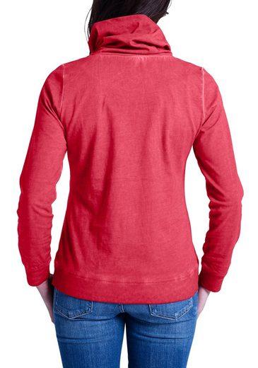 Eddie Bauer Shirt mit Schlauchkragen