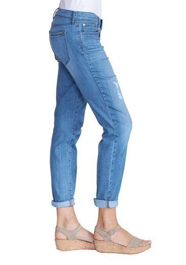 Eddie Bauer Boyfriend Slim Jeans - destroyed