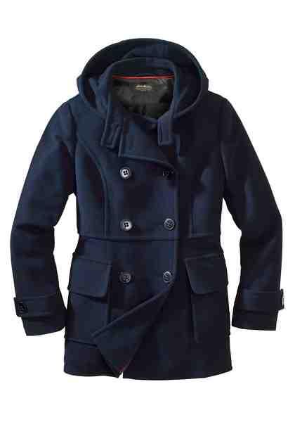 Eddie Bauer Outdoorjacke Jacke im Caban-Stil