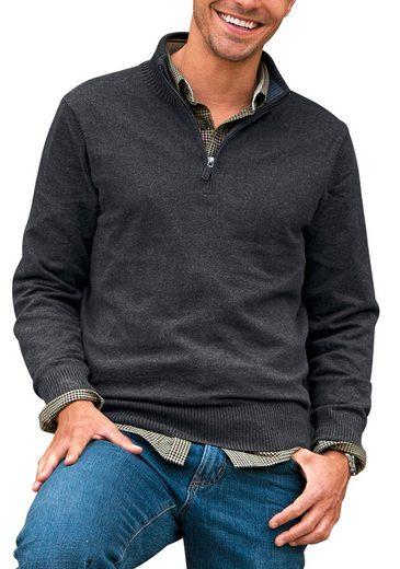 Eddie Bauer Stehkragenpullover mit Kaschmir