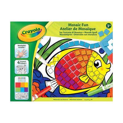 Crayola® Malvorlage »Mosaik-Spaß«