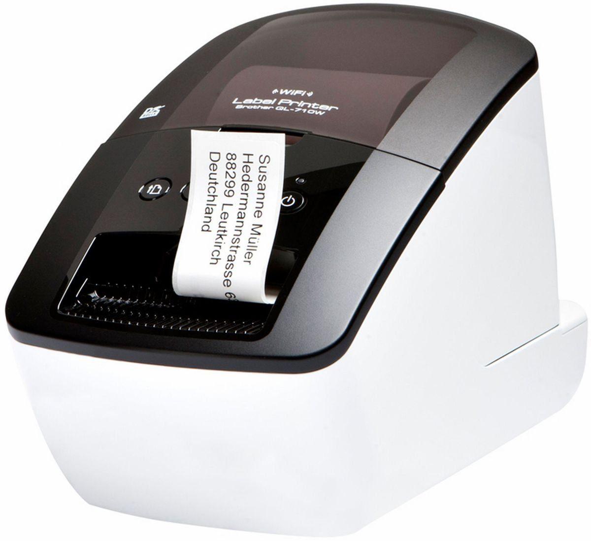 Brother Etikettendrucker »QL-710W Etikettendrucker (mit WLAN)«