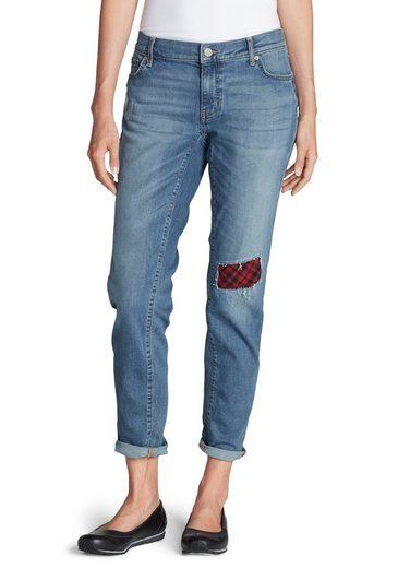 Eddie Bauer Boyfriend Jeans Mit Flanellpatch