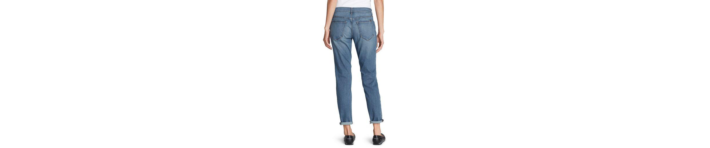 Eddie Bauer Boyfriend Jeans mit Flanellpatch Günstig Kaufen Neue NTlC6