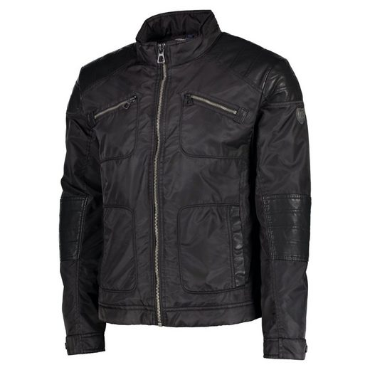 Lerros Blouson Made Of Faux Leather