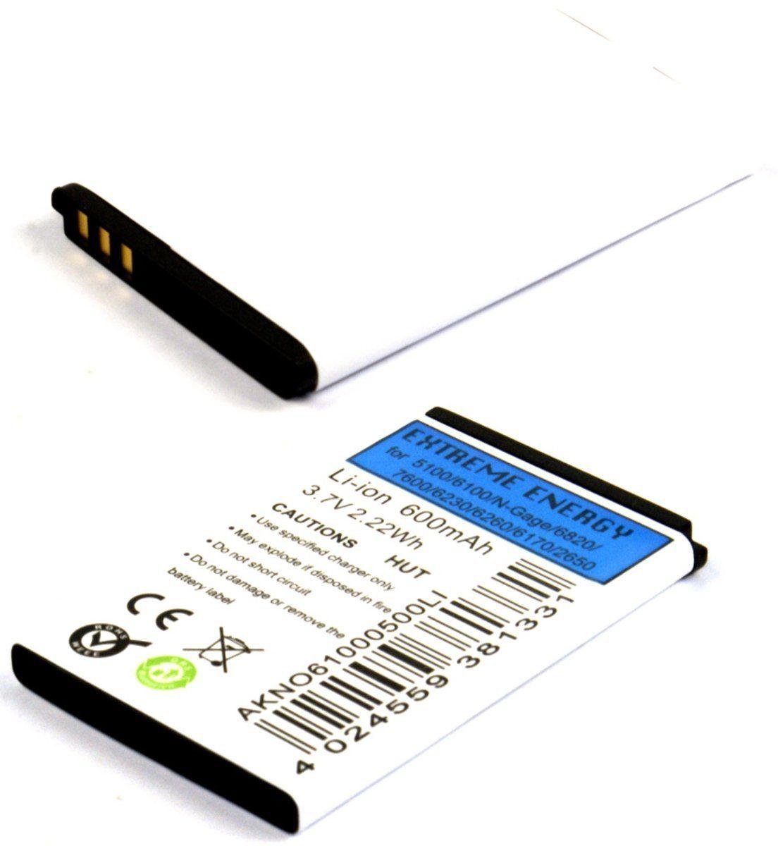 Fontastic Akku »Akku Li-Ion 600mAh für Nokia 5100/6100«