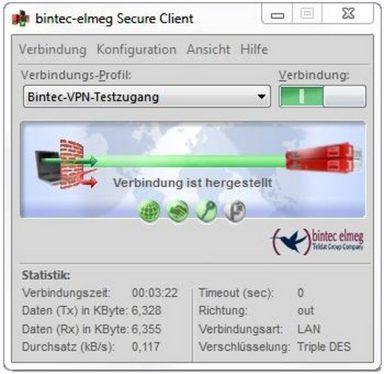Telekom Zubehör »IPSEC VPN Client«