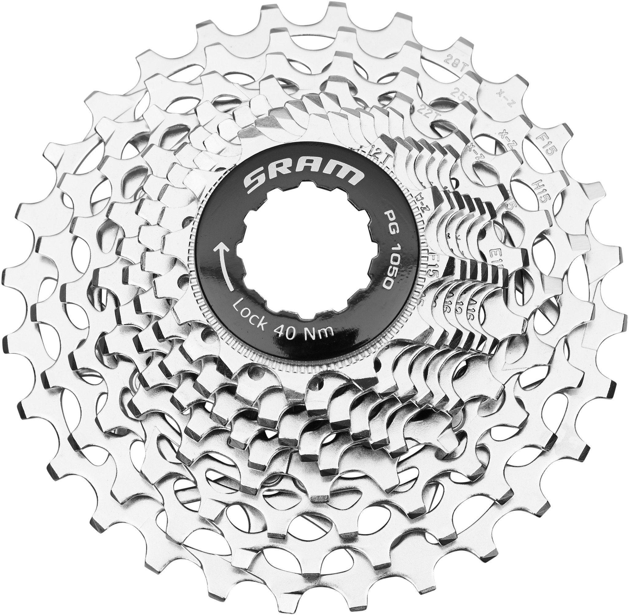SRAM Fahrradkasetten »PG-1050 PowerGlide Kassette 10-fach, 12-28 Zähne«