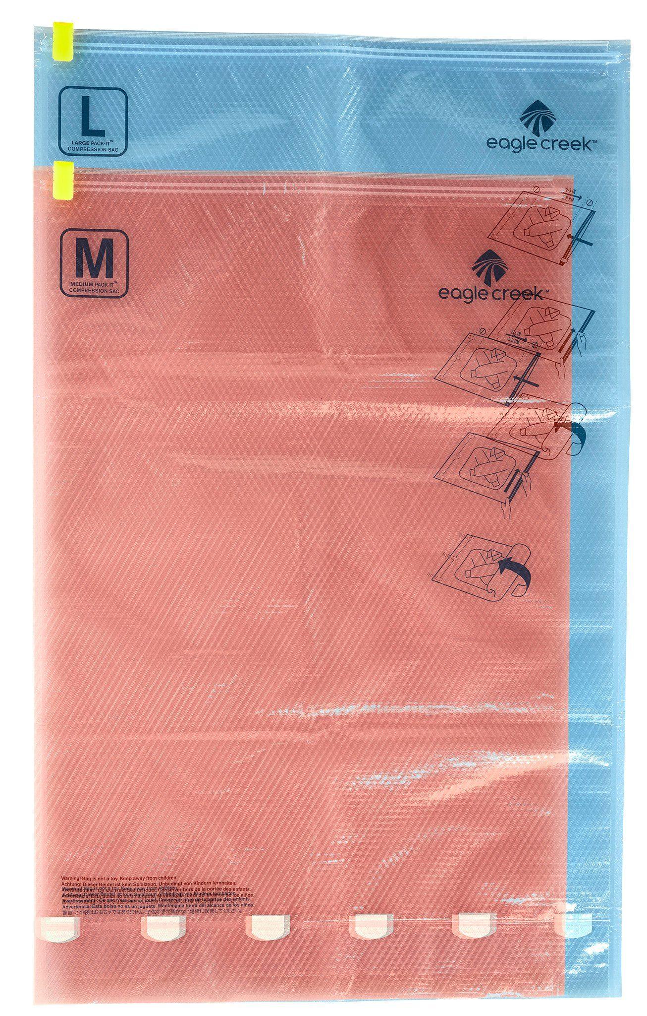 Eagle Creek Sport- und Freizeittasche »Pack-It Compression Sac Set M/L«