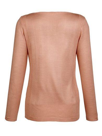 Dress In Pullover mit Ziersteinchen