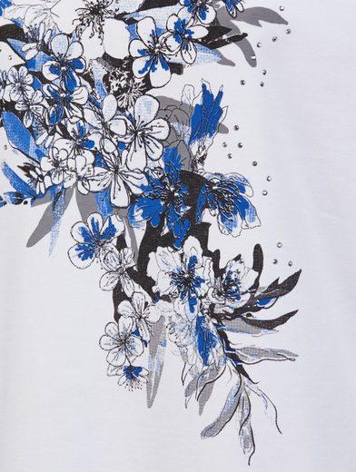 Paola Shirt mit Blumenmotiv