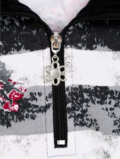 Paola Sweatshirt With Printed Pattern