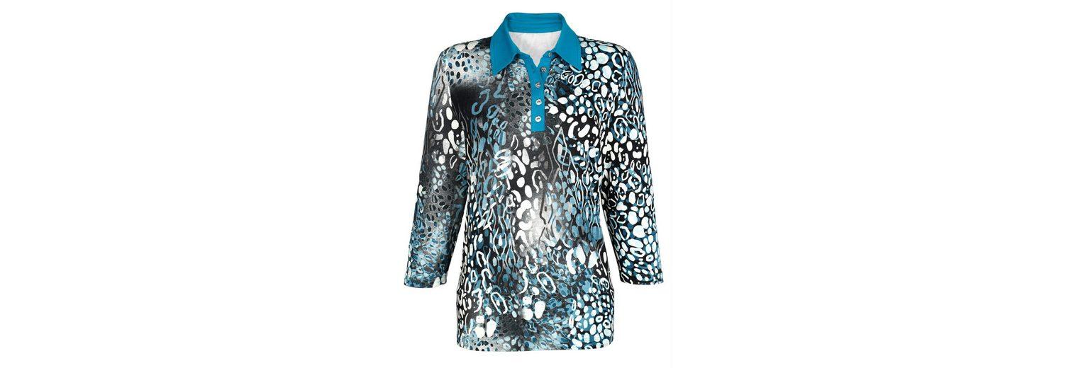 Sehr Günstig Online Grau-Outlet-Store Online Paola Poloshirt mit Druckmuster Spielraum 2018 Neueste Verkauf Niedriger Versand rabfZPETSV