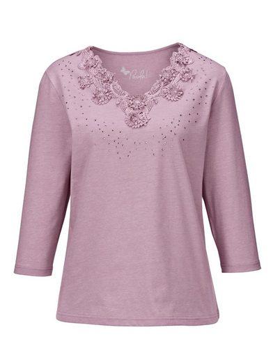 Paola Edel-Shirt mit besonderen Details