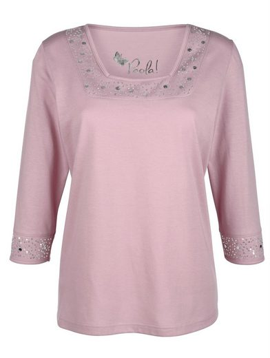 Paola Shirt mit Pailletten