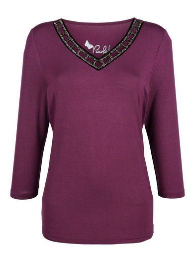 Paola Shirt mit besonderem Ausschnitt