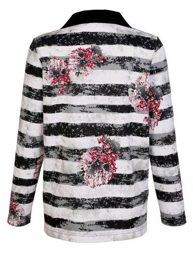 Paola Sweatshirt mit Druckmuster