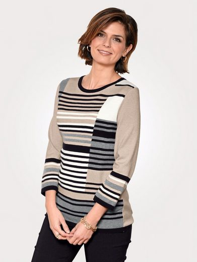 Mona Sweater With Graphic Intarsia Pattern
