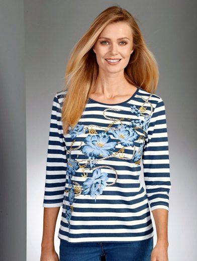 Paola Shirt mit maritinem Druck