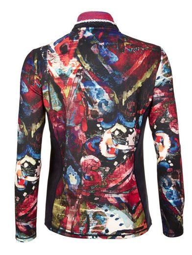 Mona Shirtjacke in Ringeloptik