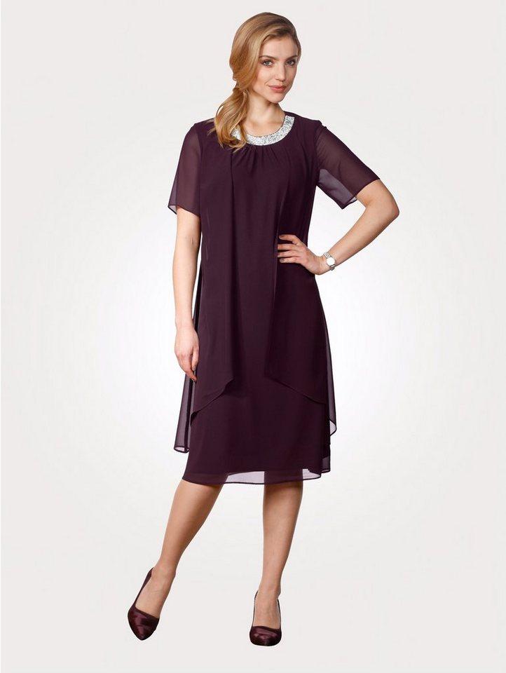 Mona Kleid mit Strassapplikation online kaufen   OTTO c99307f7ed