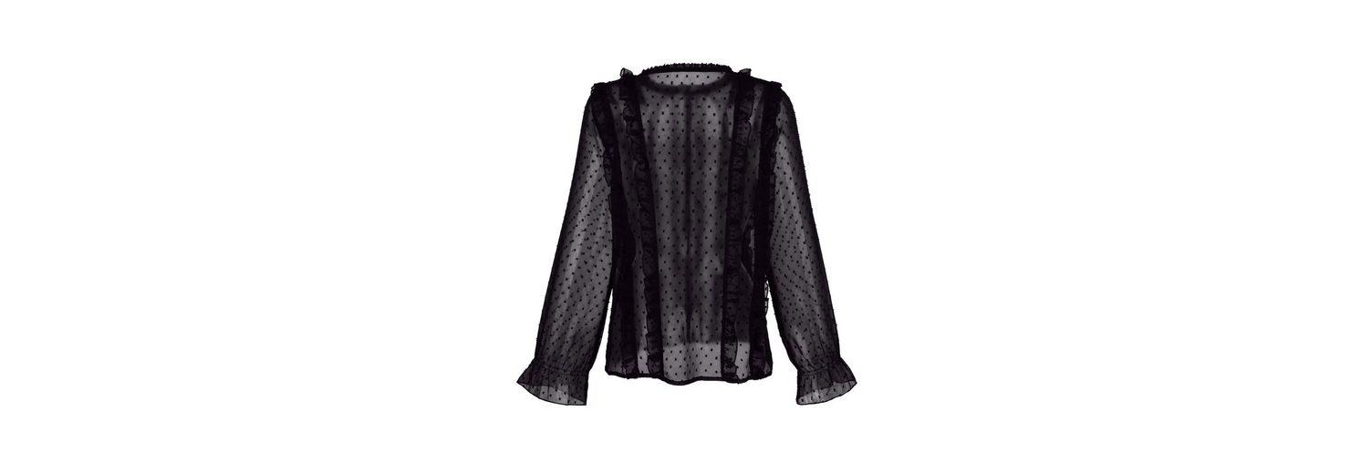 Alba Moda Bluse in transparenter Qualität Verkauf Finish Preiswert Günstiger Preis Billig 2018 Unisex Echt Wiki Verkauf Online P6ayny