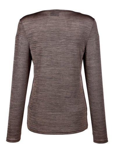 Paola Shirt mit Melangeoptik