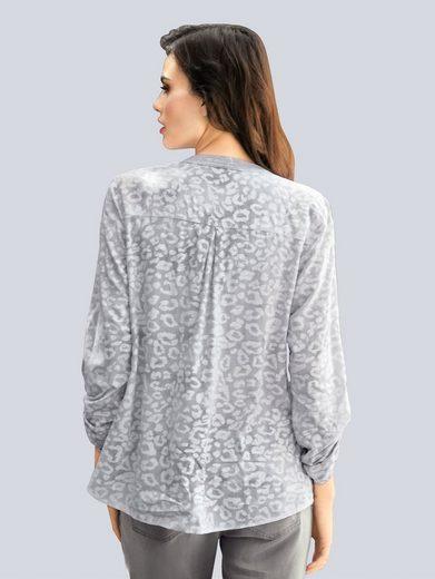 Alba Moda Bluse mit Animalprint
