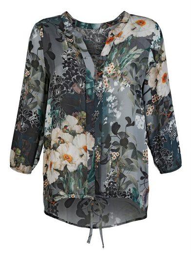 Alba Moda Bluse mit Blumendruck