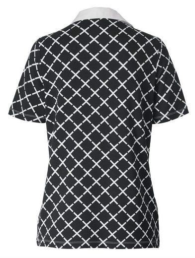 Mona Shirt mit grafischem Dessin