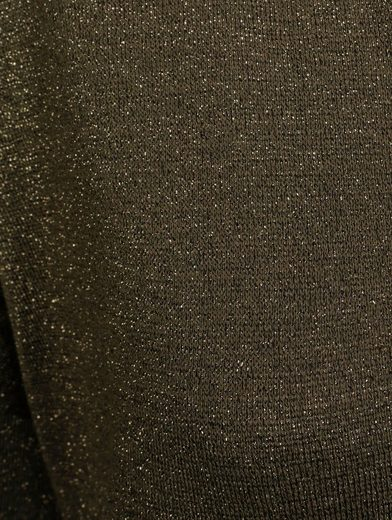 Mona Sweater With Fine Shiny Yarn