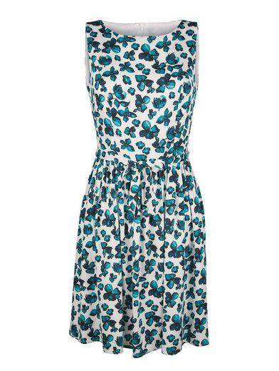 Alba Moda Printing Dress In A Feminine Violet Print
