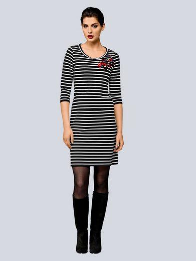 Alba Moda Kleid mit Applikationen