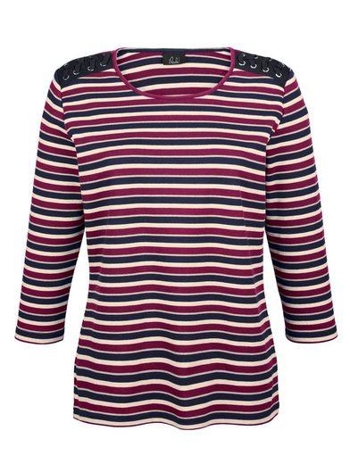 Paola Shirt in Streifendessin