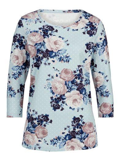 Paola Shirt mit modischem Rosen-Druck