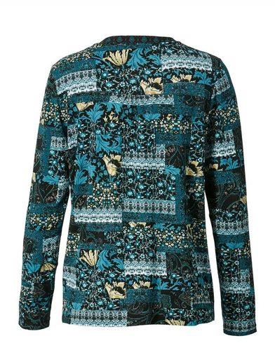 Mona Shirt mit floralem Dessin