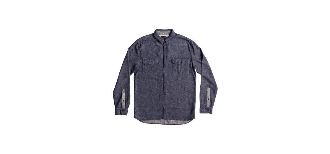 Quiksilver Langarm-Hemd Double Jungle Neue Ankunft Günstiger Preis Rabatt Geringe Versandgebühr Viele Arten Von Spielraum Größte Lieferant Strapazierfähiges E7j5wH6DId