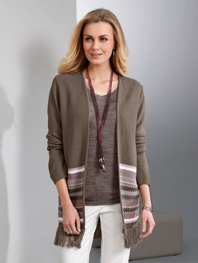 Paola Sweater With Fringes