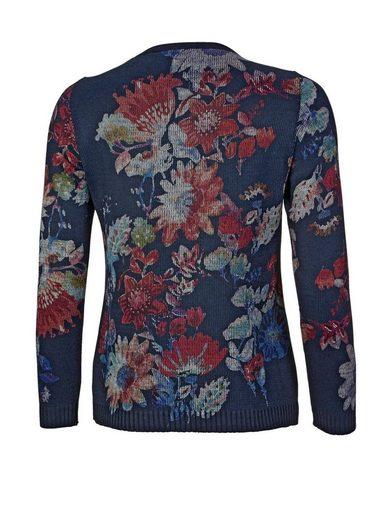 Mona Pullover mit floralem Dessin
