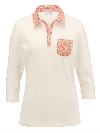 Dress In Polo Shirt With Chest Pocket
