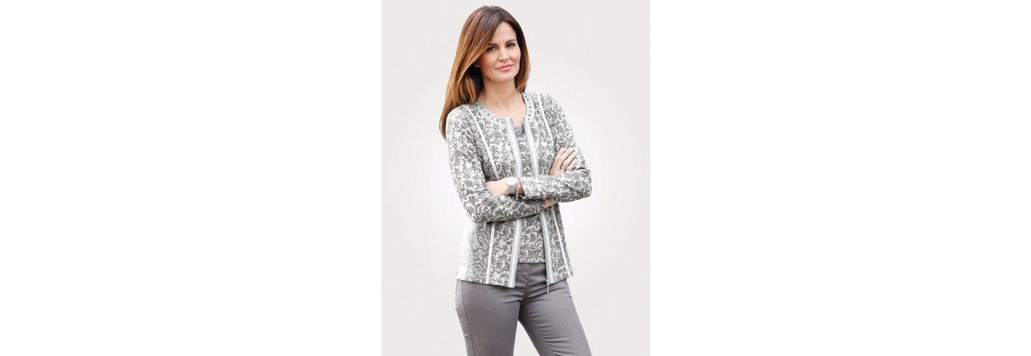 Mona Shirtjacke mit Ziersteinen Rabatt Große Überraschung Tur3v0F4A