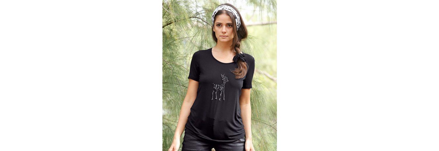 Amy Vermont Shirt mit Paillettenmotiv Freies Verschiffen Große Überraschung BlqJ2cc