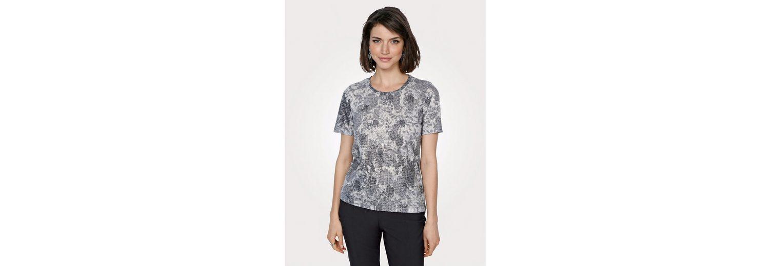 Mona Shirt mit grafischem Ausbrenner