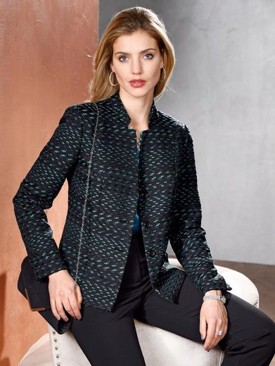 Mona Blazer From Structural Fabric